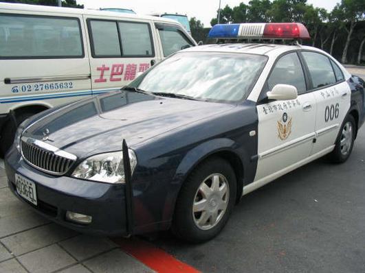 patrol car taiwan